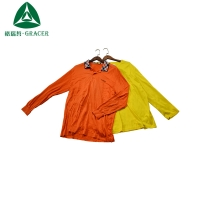 Wholesale cheap used clothes second hand clothing Guangzhou factory price men's short sleeve shirt