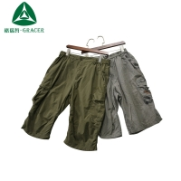 container of used clothes cheap second hand clothes used adult cargo short pants