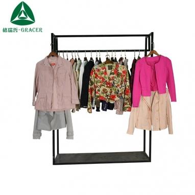 02696354d50 International wholesale mass used clothing for salejacket women ...